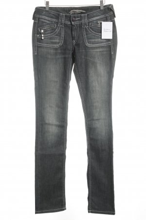 "Pepe Jeans London Straight-Leg Jeans ""seventy three"" dunkelblau"