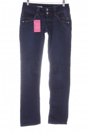 Pepe Jeans London Straight-Leg Jeans stahlblau Casual-Look