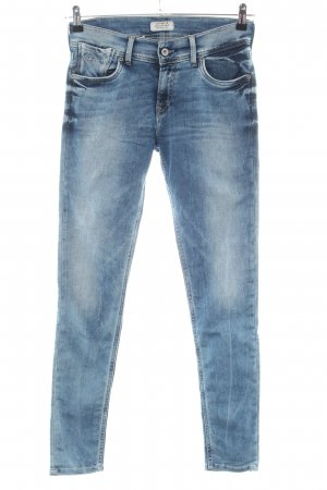 Pepe Jeans London Stretch Jeans blue color gradient casual look