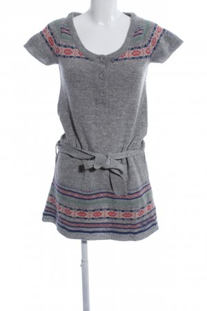 Pepe Jeans London Strickkleid grafisches Muster Street-Fashion-Look