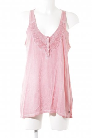 Pepe Jeans London Trägertop rosa Casual-Look