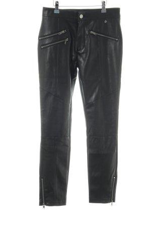 Pepe Jeans London Treggings schwarz Biker-Look