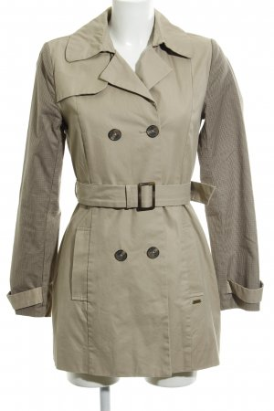 Pepe Jeans London Trench beige Stampa suggestiva stile casual