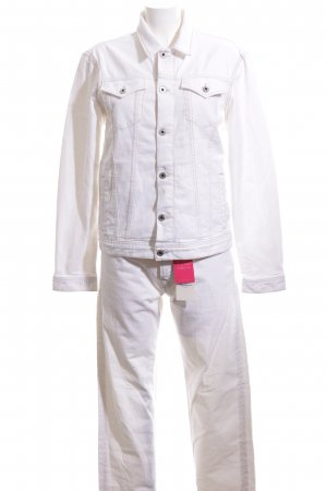Pepe Jeans London Woven Twin Set white-bronze-colored casual look