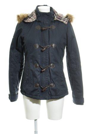 Pepe Jeans London Winterjacke dunkelblau Casual-Look