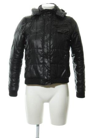 Pepe Jeans London Winterjacke schwarz Casual-Look