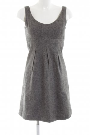 Pepe Jeans London Wollkleid hellgrau Webmuster Business-Look