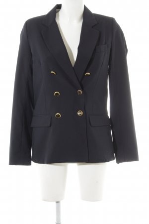 Pepe Jeans Long-Blazer dunkelblau Business-Look