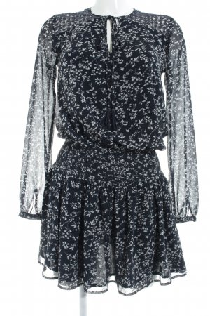 Pepe Jeans Long-Bluse Blumenmuster Casual-Look