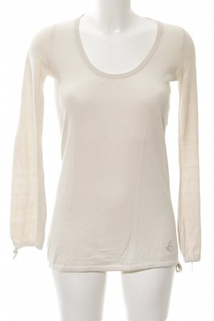Pepe Jeans Long Sweater cream casual look