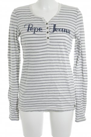 Pepe Jeans Longsleeve grafisches Muster Casual-Look