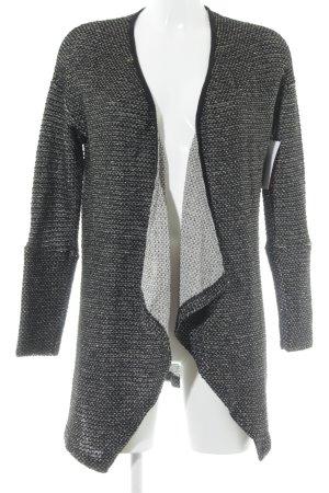 Pepe Jeans Gilet long tricoté noir style décontracté