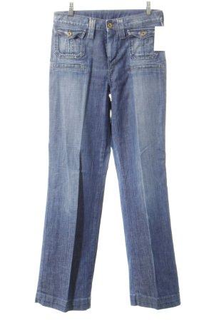 Pepe Jeans Marlenejeans kornblumenblau Street-Fashion-Look