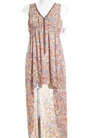 Pepe Jeans Maxikleid abstraktes Muster Beach-Look