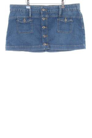 Pepe Jeans Minirock blau Casual-Look