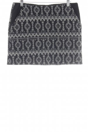 Pepe Jeans Miniskirt black-natural white Aztec pattern casual look