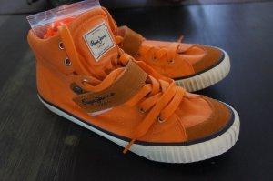 Pepe Jeans Mocasines naranja neón