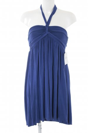 Pepe Jeans Halter Dress blue beach look