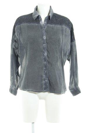 Pepe Jeans Oversized Bluse mehrfarbig Used-Optik