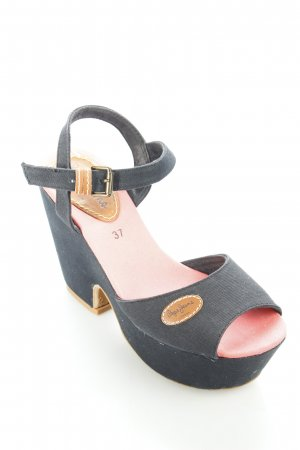 Pepe Jeans Platform High-Heeled Sandal multicolored urban style
