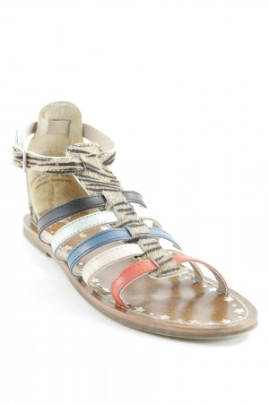 Pepe Jeans Riemchen-Sandalen Animalmuster Casual-Look