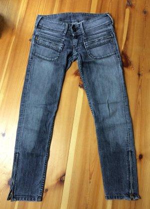 PEPE JEANS Röhren-Jeans grau W27 L28