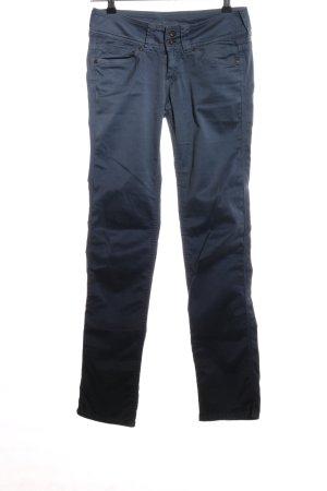 Pepe Jeans Röhrenhose blau Business-Look