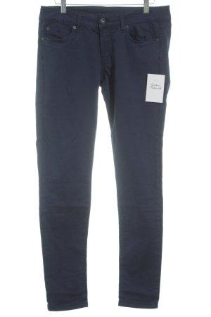 Pepe Jeans Röhrenhose dunkelblau Casual-Look