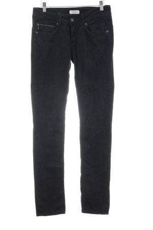 Pepe Jeans Röhrenhose schwarz Casual-Look