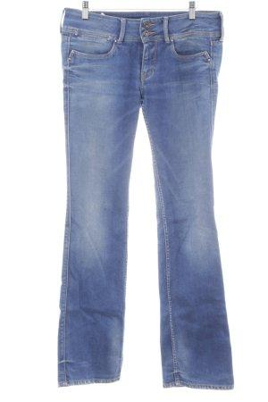 Pepe Jeans Röhrenjeans blau Casual-Look