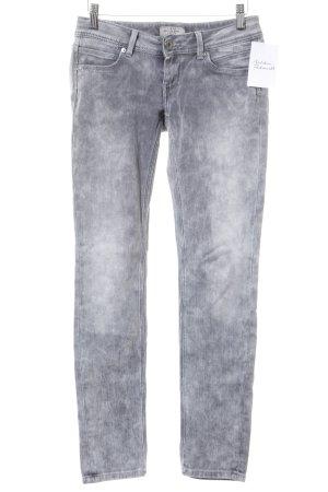 Pepe Jeans Röhrenjeans grau Casual-Look
