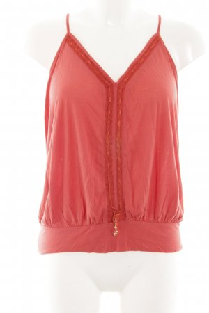 Pepe Jeans Backless Top red elegant