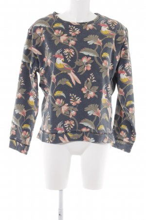 Pepe Jeans Rundhalspullover florales Muster Casual-Look