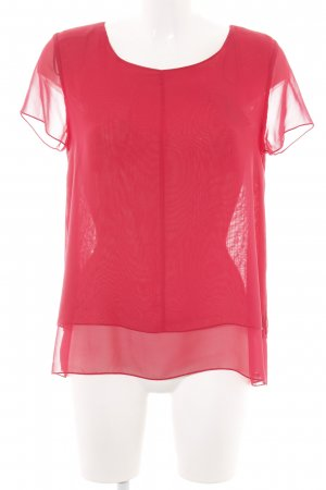 Pepe Jeans Schlupf-Bluse rot Casual-Look