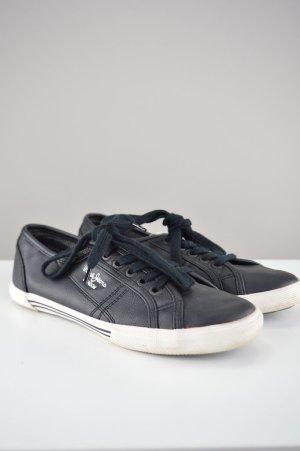 Pepe Jeans Schnürschuhe Halbschuhe schwarz Größe 38