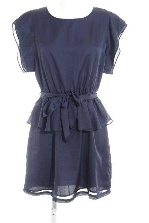 Pepe Jeans Peplum Dress dark blue elegant