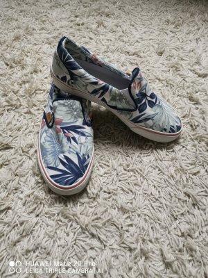 Pepe Jeans London Alpargatas blanco-azul