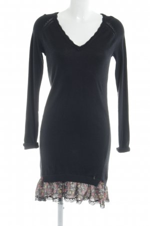 Pepe Jeans Shirt Dress floral pattern Logo application (metal)