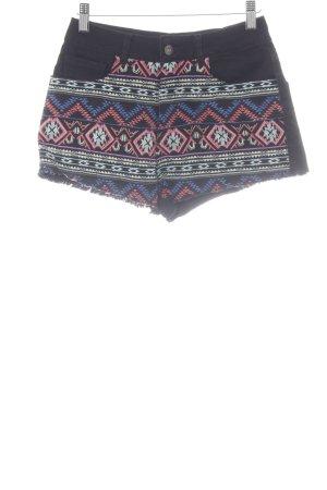Pepe Jeans Shorts Aztekenmuster Casual-Look
