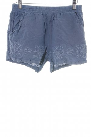 Pepe Jeans Shorts blau Allover-Druck Casual-Look