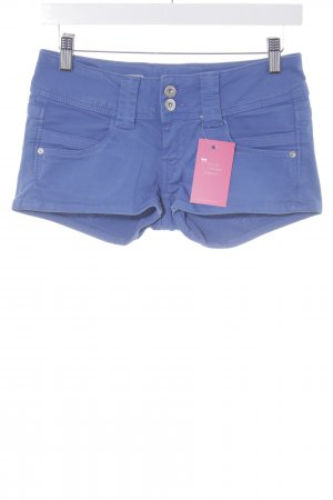 Pepe Jeans Shorts azul acero look casual