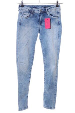 half off 268d1 6993d Pepe Jeans Skinny Jeans blau Casual-Look