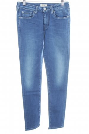 Pepe Jeans Skinny Jeans blau Washed-Optik