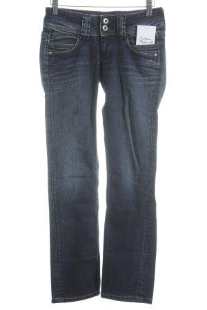 Pepe Jeans Skinny Jeans dunkelblau Street-Fashion-Look