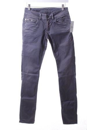 Pepe Jeans Skinny Jeans grau Glanz-Optik