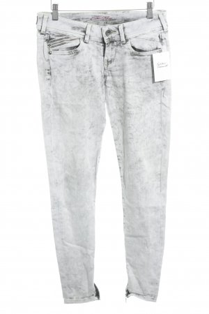 Pepe Jeans Skinny Jeans grau-hellgrau Farbverlauf Casual-Look