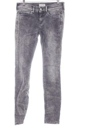 Pepe Jeans Skinny Jeans grau Washed-Optik