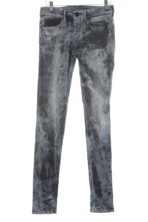 Pepe Jeans Skinny Jeans graublau Farbverlauf Used-Optik