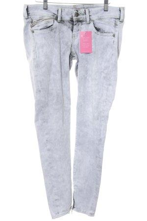 Pepe Jeans Skinny Jeans hellgrau-blassgrün Casual-Look