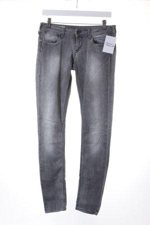 Pepe Jeans Skinny Jeans hellgrau Casual-Look